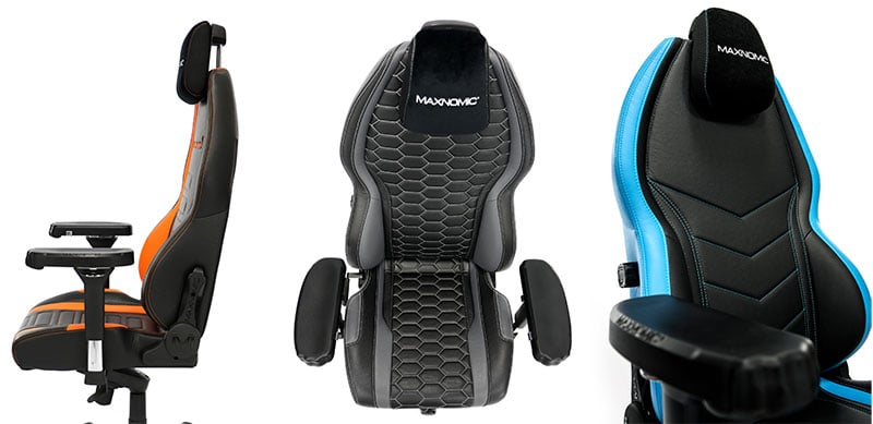 Maxnomic MIG chair features