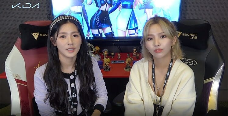 Miyeon and Soyeon K/DA Pop Stars