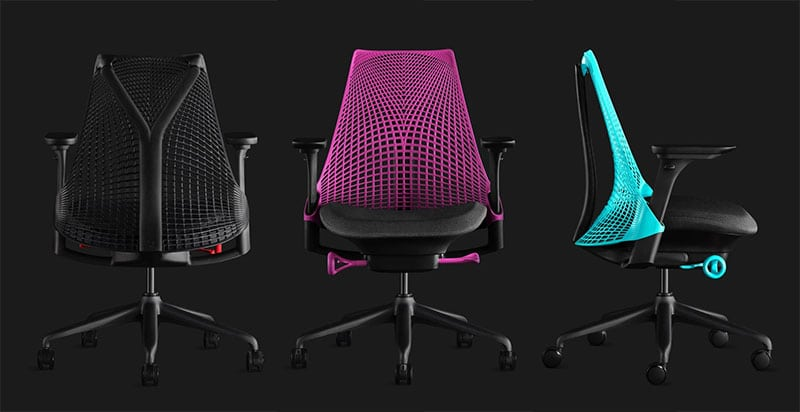 Sayle gaming chair colors