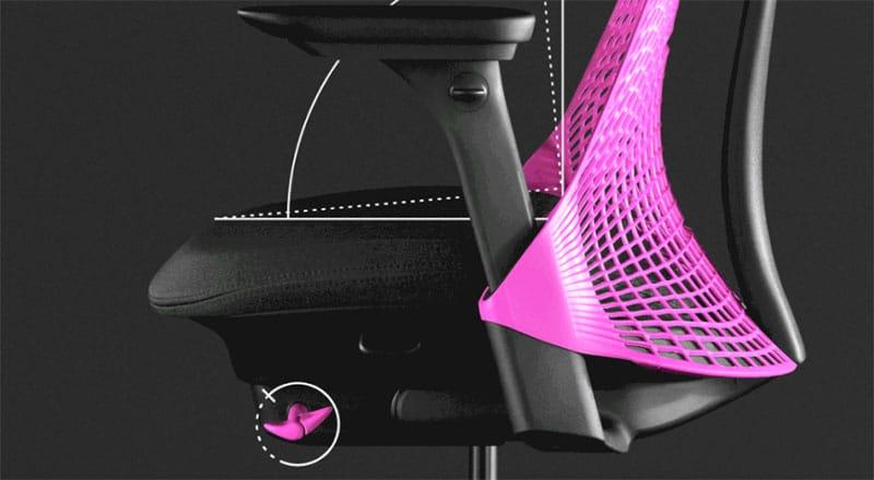 Sayle chair synchro-tilt