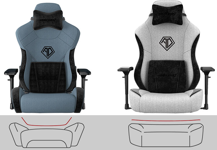 T-Pro versus T-Pro 2 seat styles