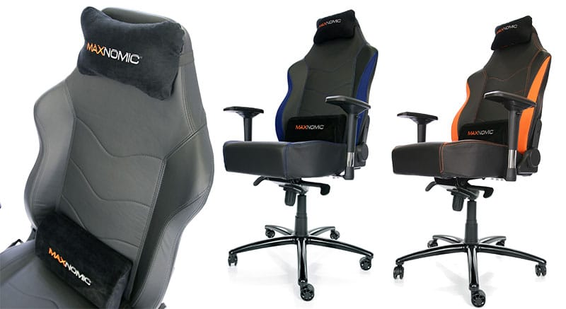 Maxnomic XL Series chair cushions