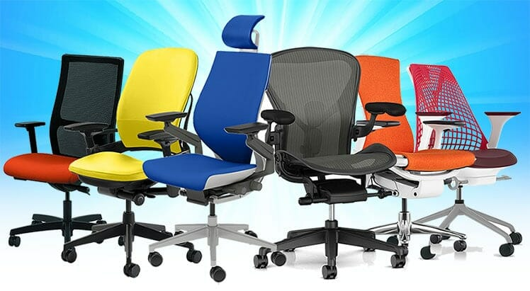 Best synchro-tilt ergonomic task chairs