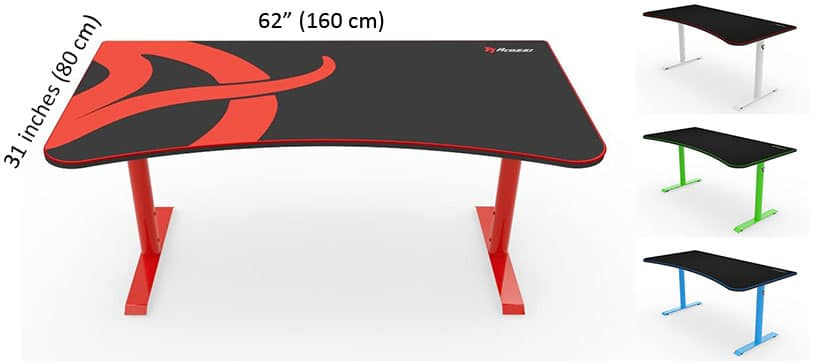 Arozzi gaming desk