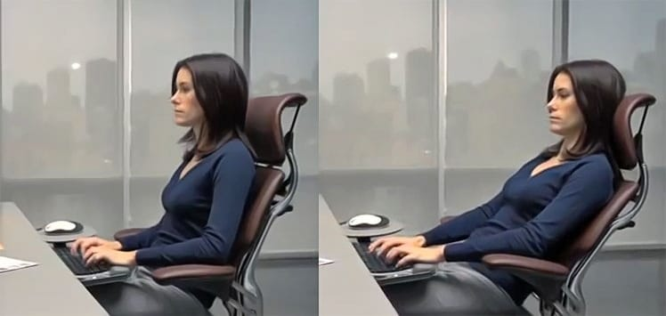 Freedom chair posture support