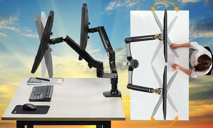 Clean computing with desk mounts