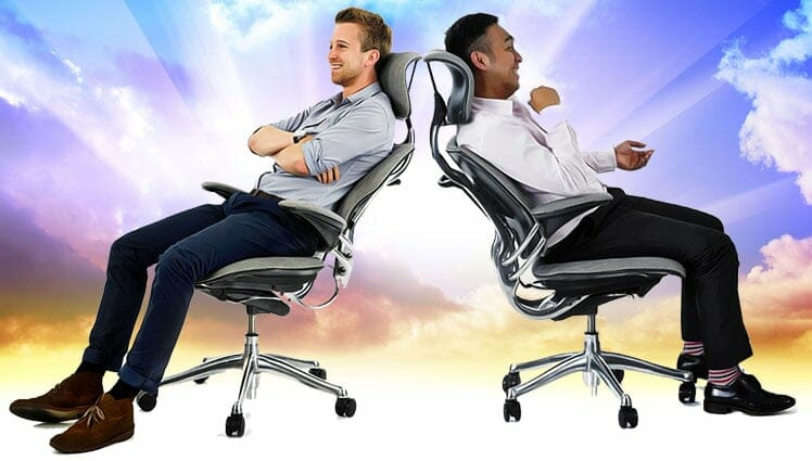 Freedom chair sitting concept