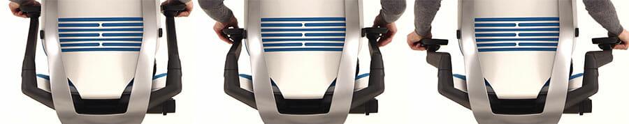 Steelcase Gesture armrests