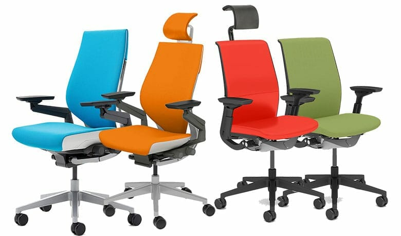 Steelcase Gesture and Think chairs
