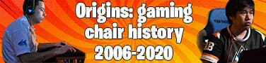The complete history of gaming chairs: 2006-2020