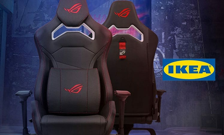IKEA and ASUS ROG gaming chair collaboration