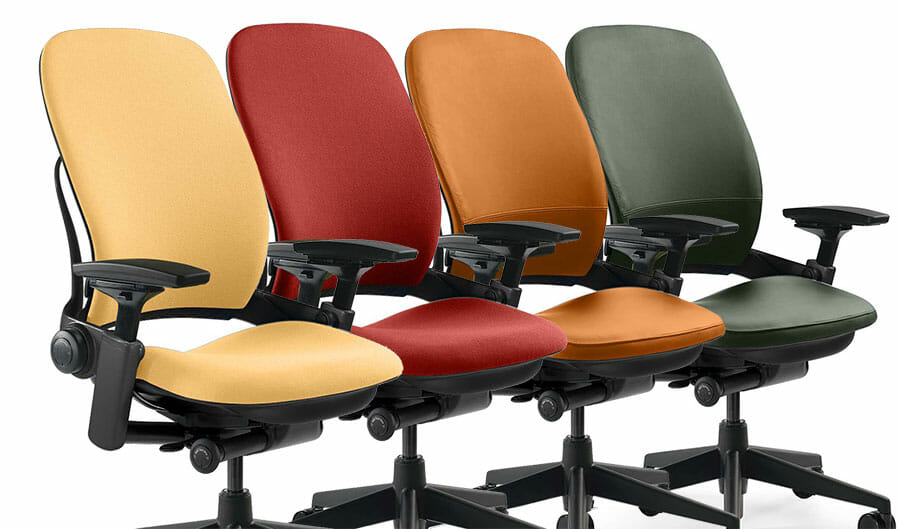 Steelcase Leap upholstery options