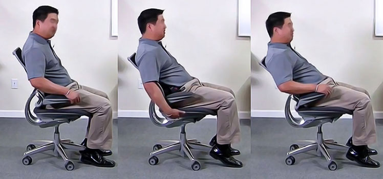 Liberty chair posture support