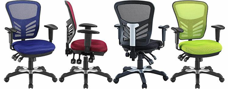 Modway EEI-757-BLK Articulate Ergonomic Mesh Office Chair