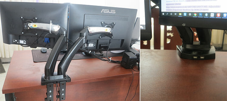 ChairsFX North Bayou desk mount example