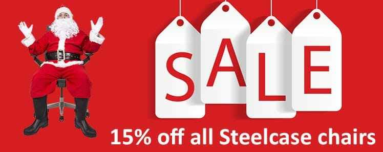 Steelcase holiday sales