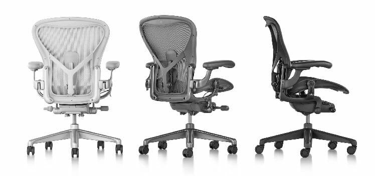 Herman Miller Aeron chair colors