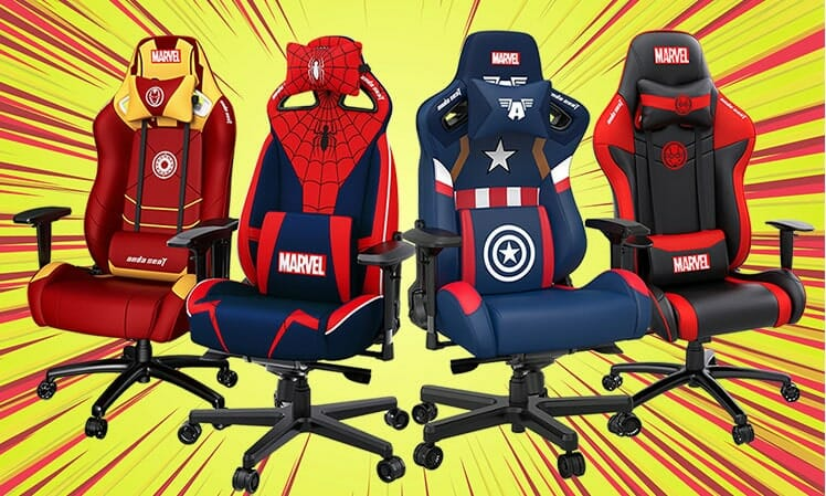 Anda Seat Marvel gaming chairs
