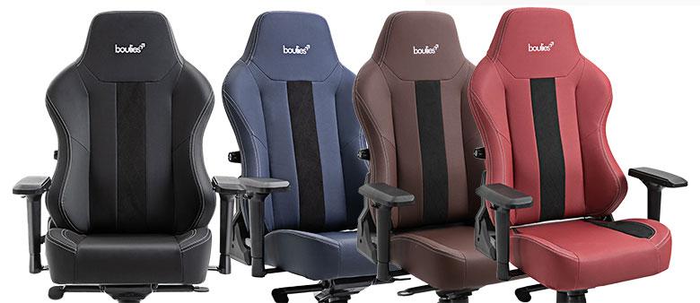 Boulies Master Series gaming chairs
