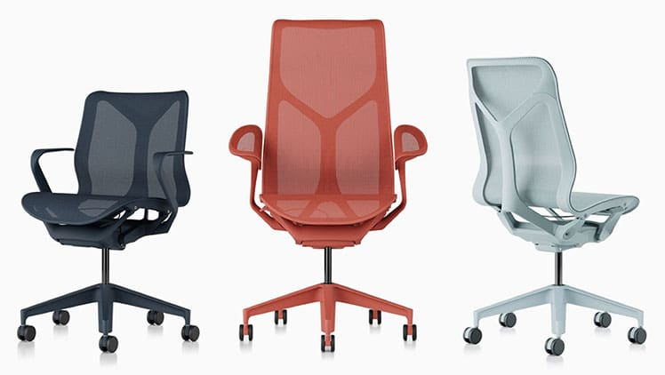 Cosm chair size options