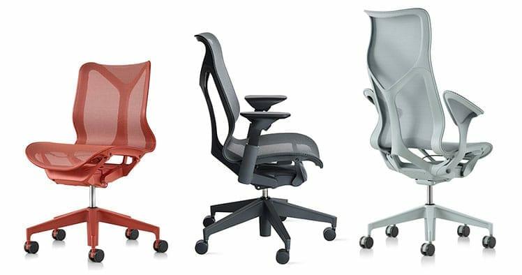 Herman Miller Cosm chair sizes