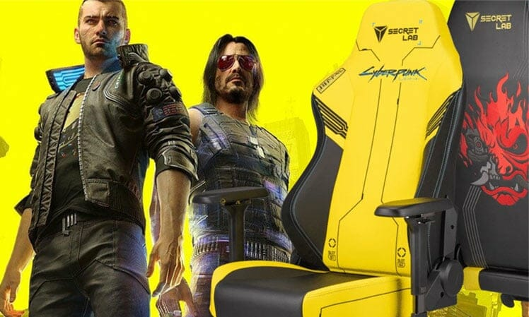 Cyberpunk gaming chair giveaway