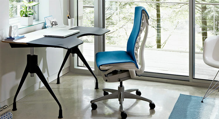 Herman Miller Embody work from home chair