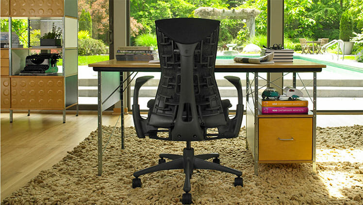 Herman Miller Embody work-from-home chair