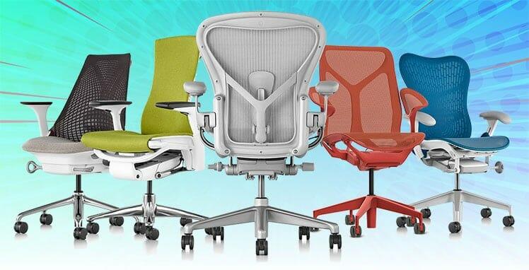 Herman Miller ergonomic chairs reviewed