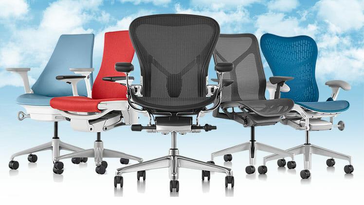 Herman Miller ergonomic chairs
