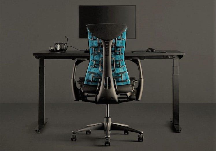 Herman Miller Nevi desk for Europe