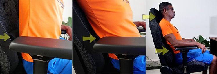 Secretlab Omega lumbar support pillow