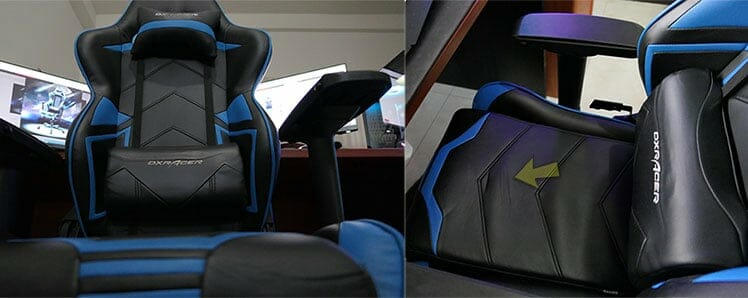 Racing Pro Series upholstery