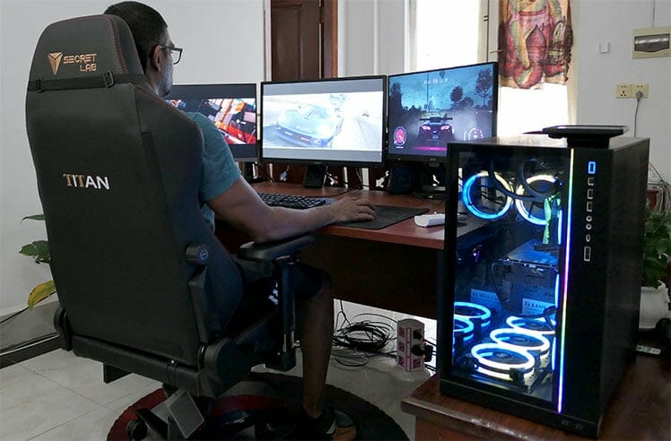 Secretlab ergonomic workstation