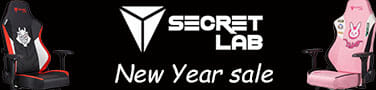 Secretlab 2021 New Year sale