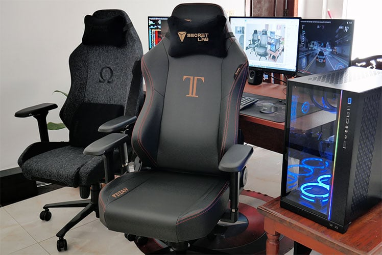 Secretlab Titan versus Omega gaming chairs