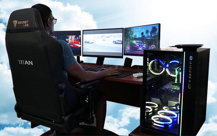 Secretlab Titan workstation