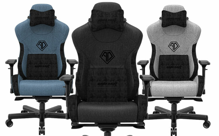 Anda Seat T-Pro 2 Series gaming chairs