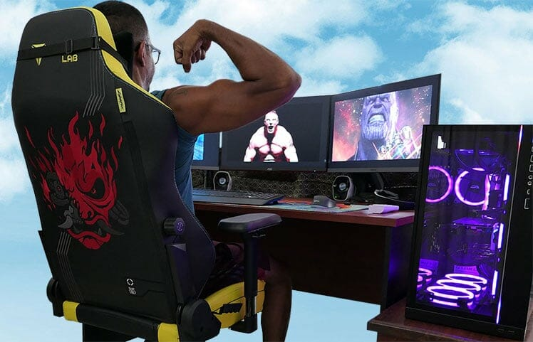 Gaming chair health and wellness benefits