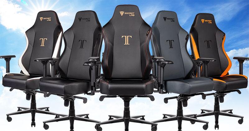 Titan basic chair colors