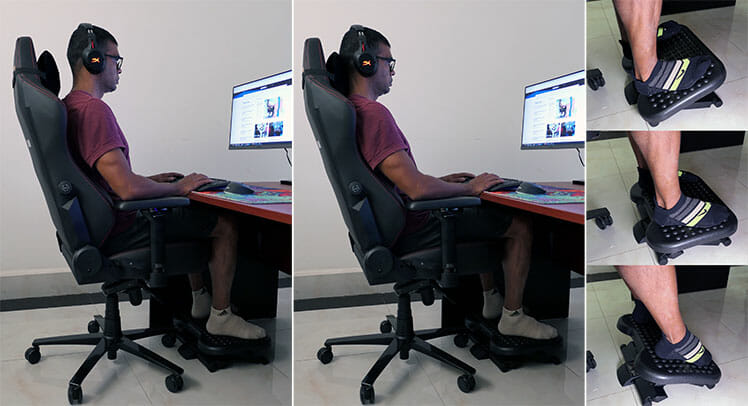 Constant movement while sitting