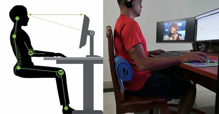 DIY ergonomic lumbar support