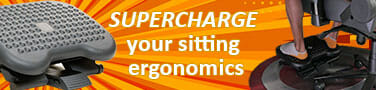 Benefits of an ergonomic chair footrest