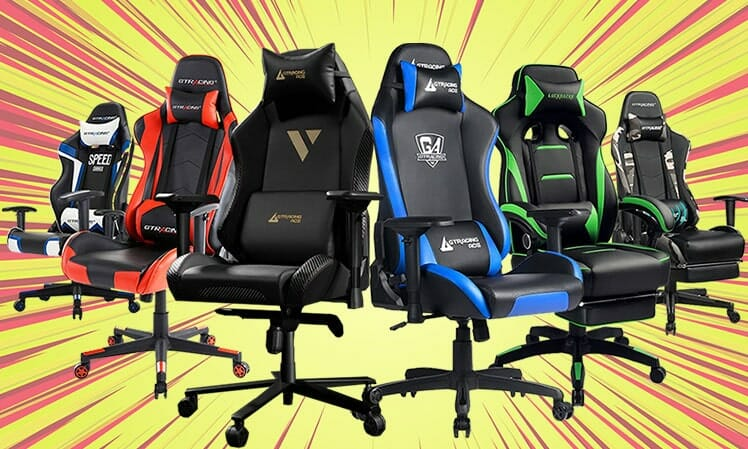 GTRacing gaming chairs