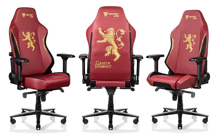 Titan and Omega House Lannister chairs
