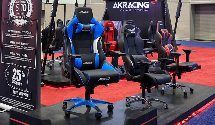 Master Series Pro gaming chair