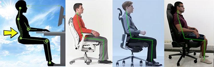 Neutral sitting postures