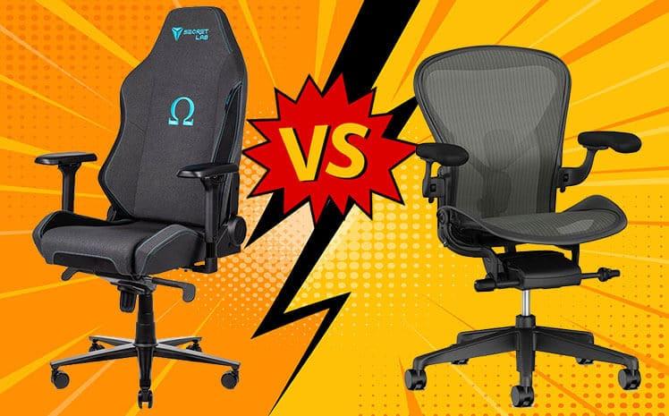 Secretlab Omega vs Herman Miller Aeron chair