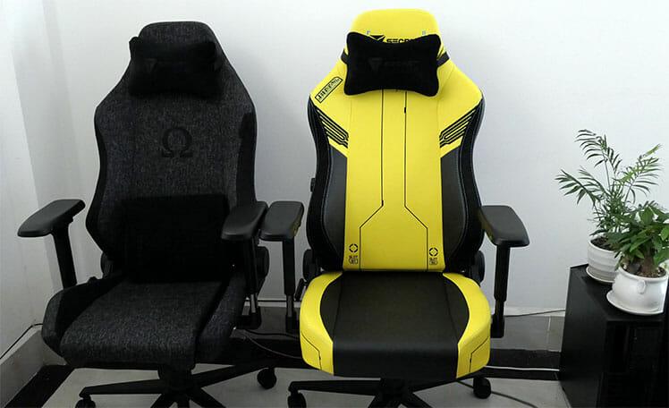 Secretlab Titan vs Omega chairs