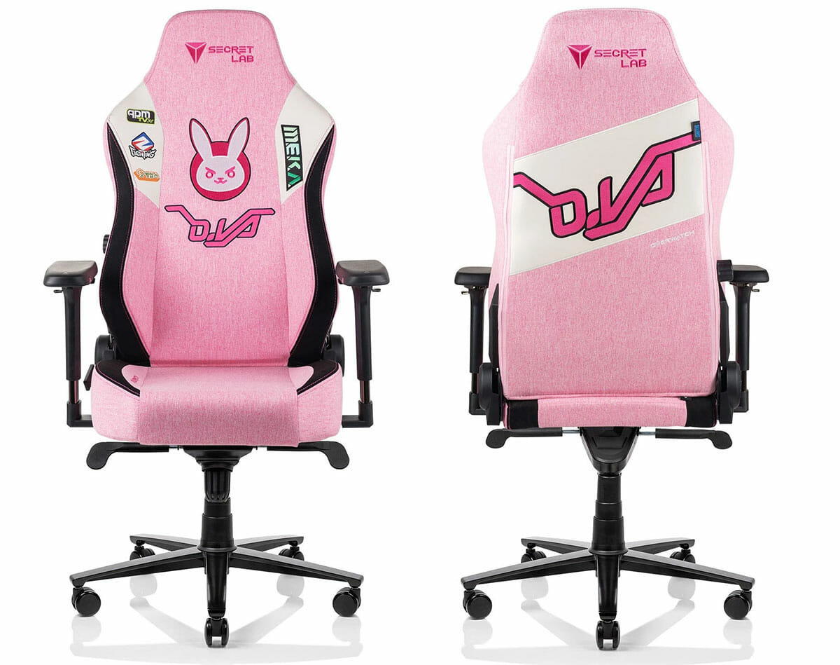 Overwatch D.Va gaming chair